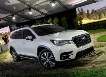 Новый Subaru Ascent собрался в Поднебесную
