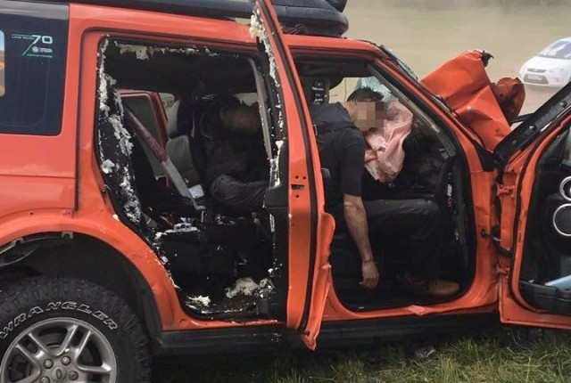 В ДТП погиб президент ростовского клуба Land Rover: фото пострадавших