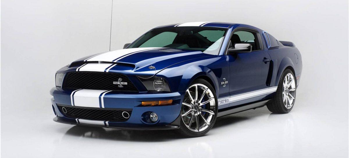Ford опубликовали первый тизер нового Mustang Shelby GT500