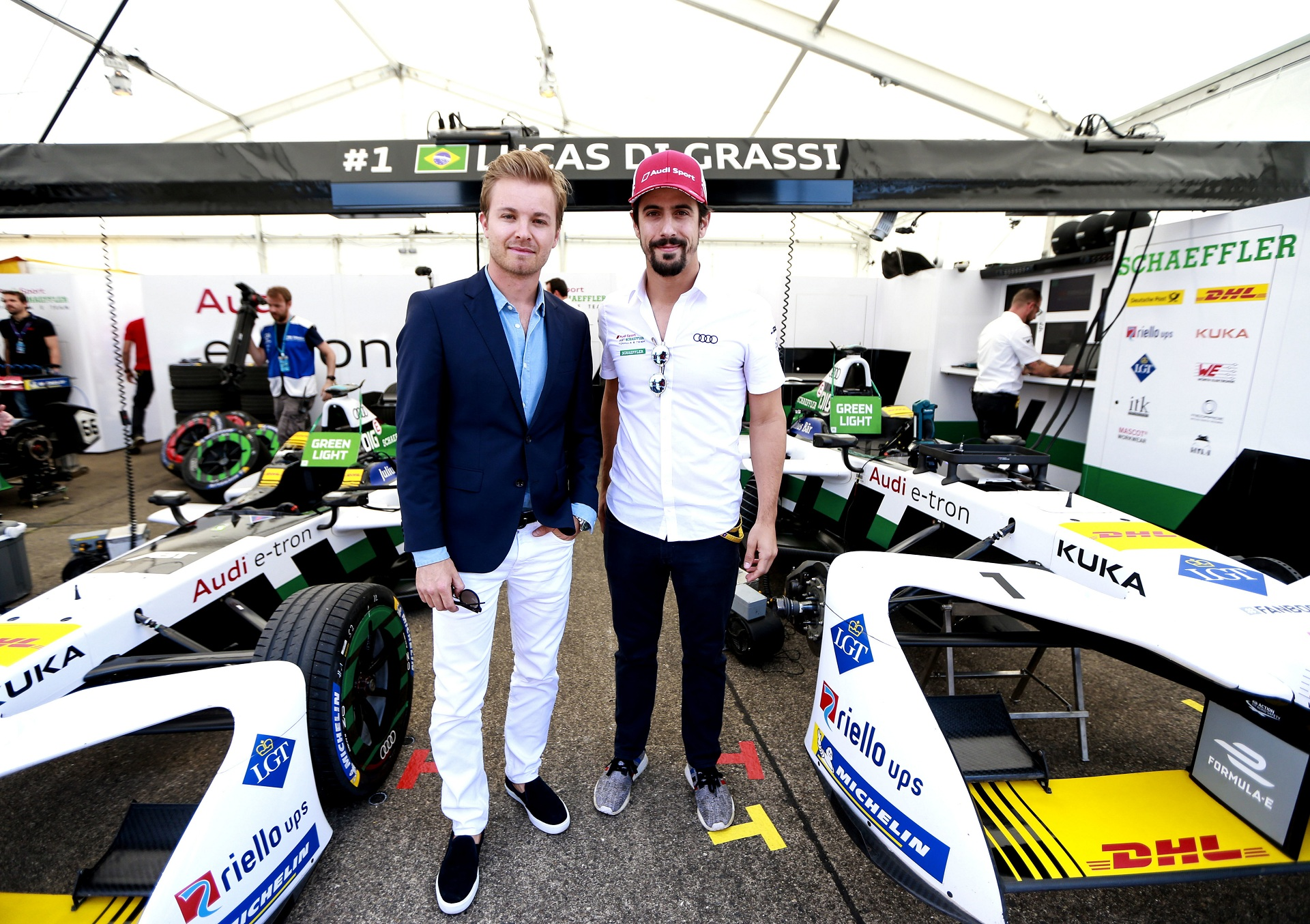 Nico Rosberg, Lucas di Grassi