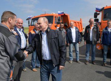 В ФСО объяснили, почему Путин не пристегнулся в КамАЗе