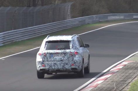 Новый Mercedes-Benz GLA засняли на видео
