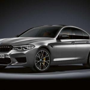 Новый BMW M5 Competition - точная реакция и мощный двигатель