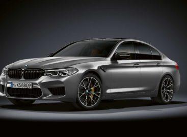 Новый BMW M5 Competition – точная реакция и мощный двигатель
