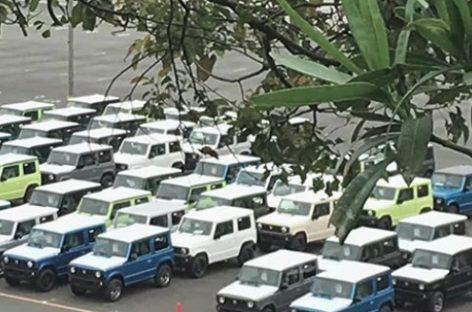 Suzuki начала выпуск нового Jimny