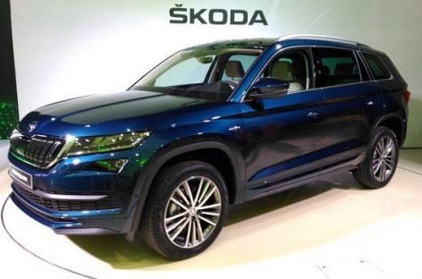 Skoda представит в России свой лучший Kodiaq