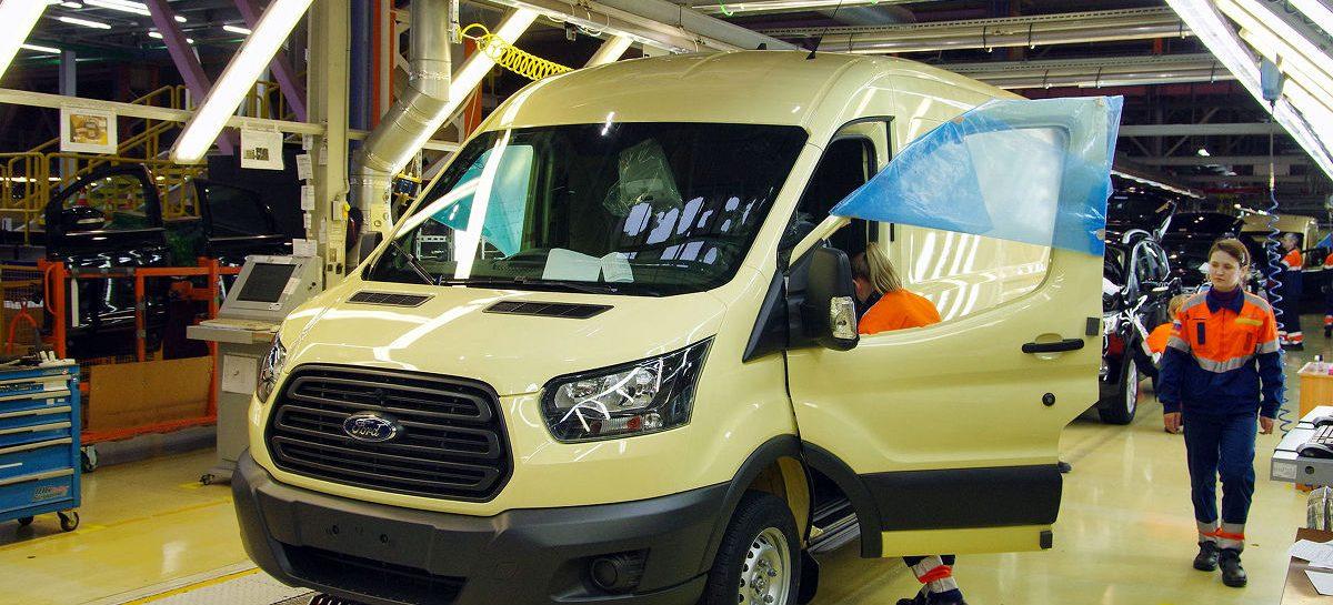 Новый Ford Transit откроет российским инкассаторам доступ к подземным парковкам
