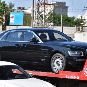 В Москве нашли помесь «ЗИЛа», «Роллс-Ройса» и «Кортежа»
