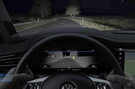 Volkswagen научил новый Touareg видеть в темноте