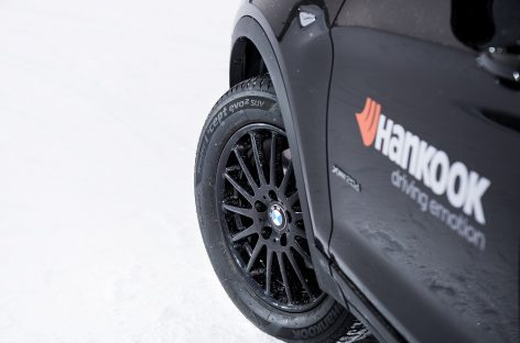 Hankook снова стала поставщиком шин для BMW X3