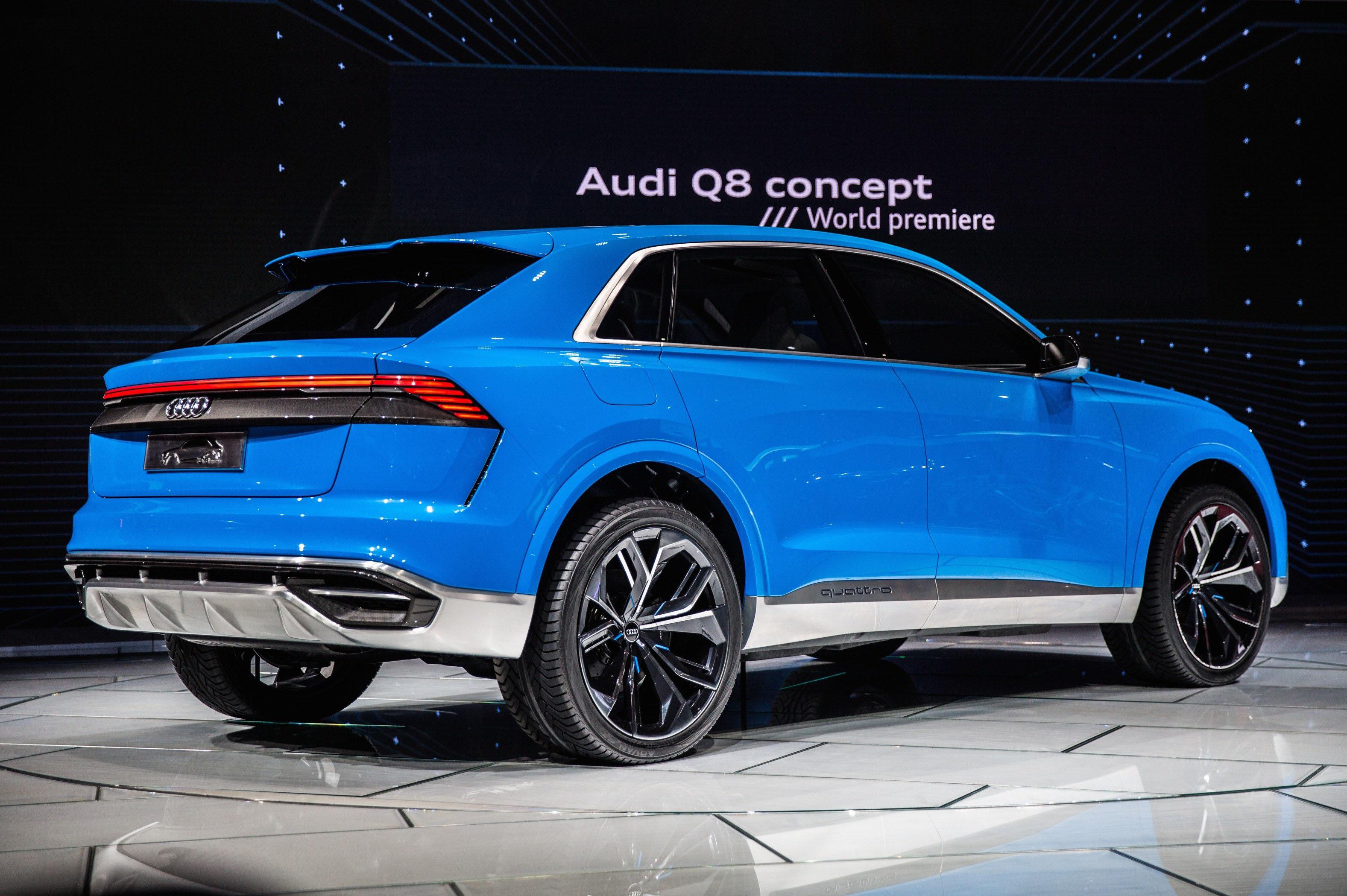 Audi показала тизер люксового кроссовера Q8 Amsrus