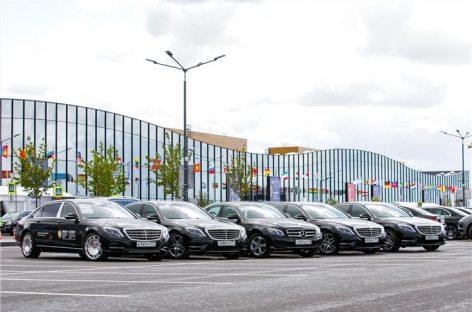 Mercedes-Benz на ПМЭФ