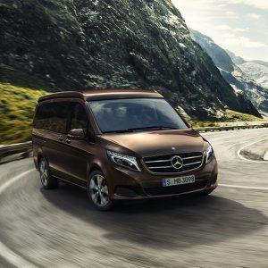 Mercedes-Benz представил новые возможности по оборудованию кемпера Marco Polo