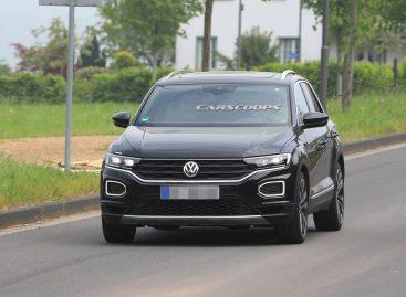 Volkswagen T-Roc R проходит испытания в Нюрбургринге