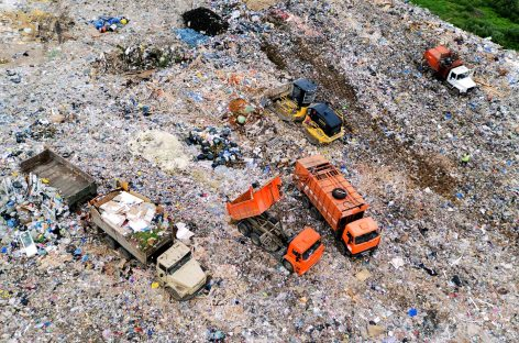 Более 100 га земли ежегодно выделяется под свалки в Подмосковье