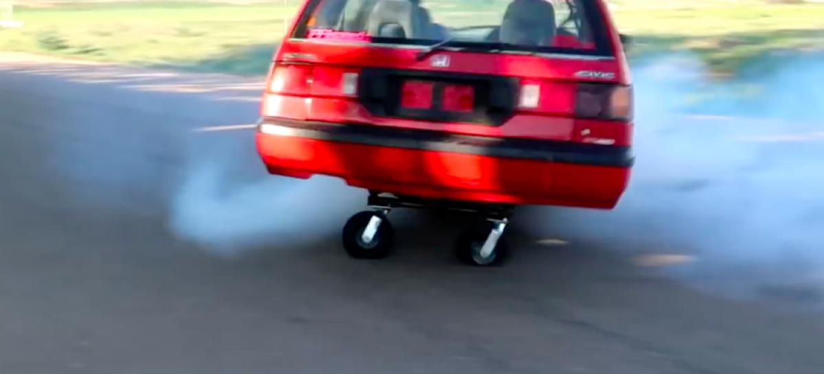 Гибрид Honda Civic и тележки