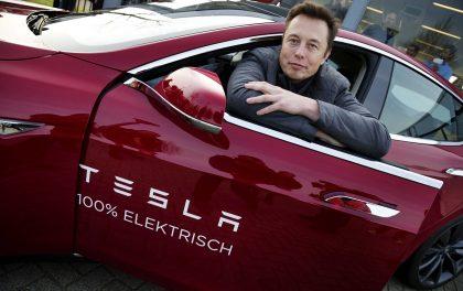 Глава американского производителя электромобилей Tesla