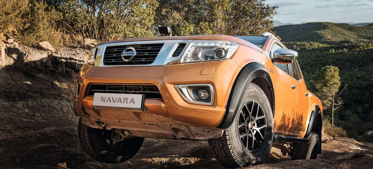 Nissan и Arctic Trucks показали возможности пикапа Navara AT32