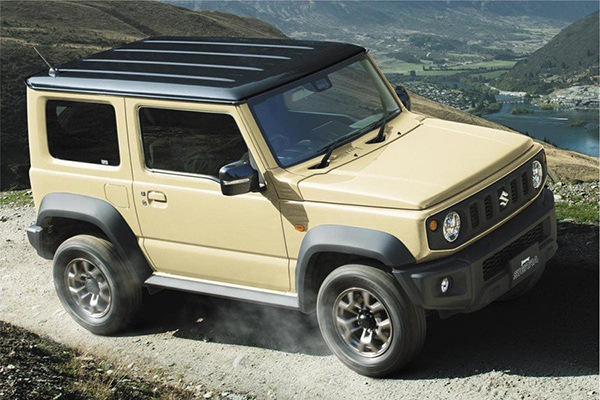 Новый Suzuki рассекретили