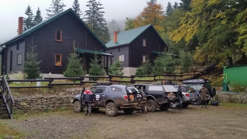 Бывшая база Януковича