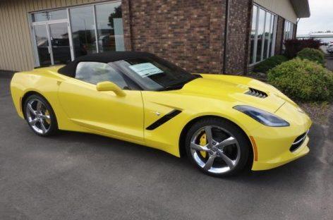 Новый Corvette оказался настолько мощным, что у него деформируется кузов
