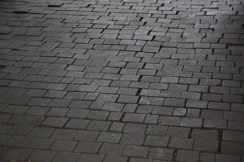 Старинная брусчатка в городах Закарпатья не редкость