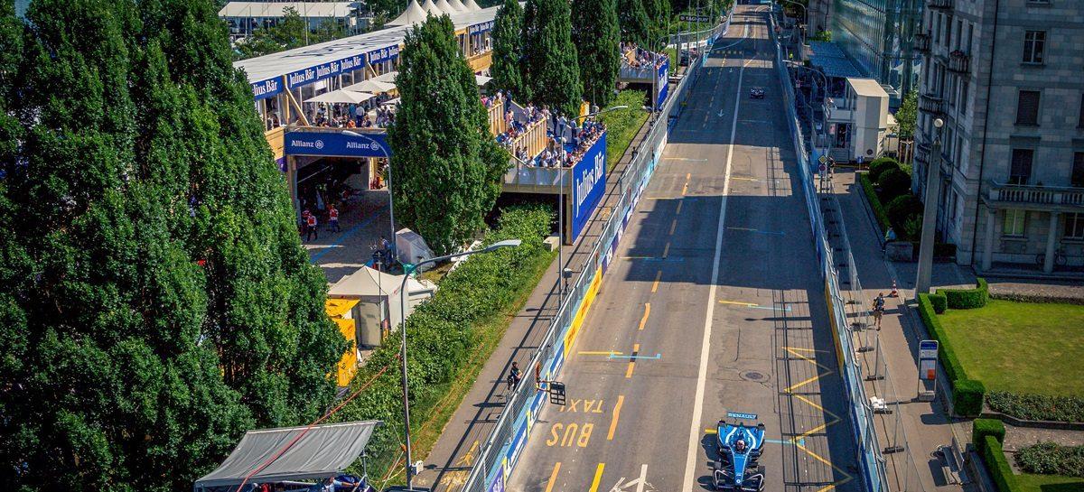 Renault e.dams по прежнему занимает шестое место