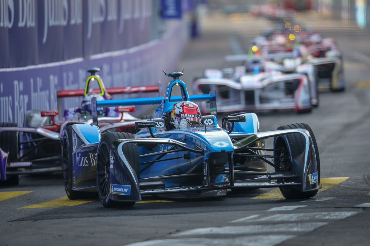 Команда Renault e.dams на шестом месте