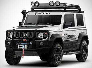 Suzuki Jimny нового поколения рассекретили неделю назад