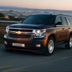 Внедорожник Chevrolet Tahoe прибавил в цене 50 тысяч рублей