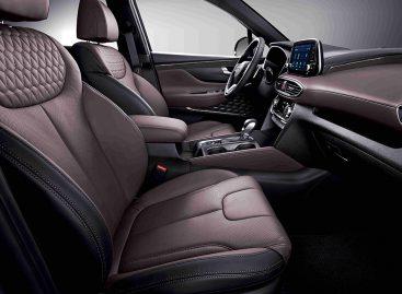 Hyundai Santa Fe получил топовую комплектацию