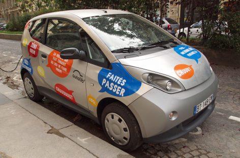 В Париже прекращает работу крупнейший каршеринг электромобилей