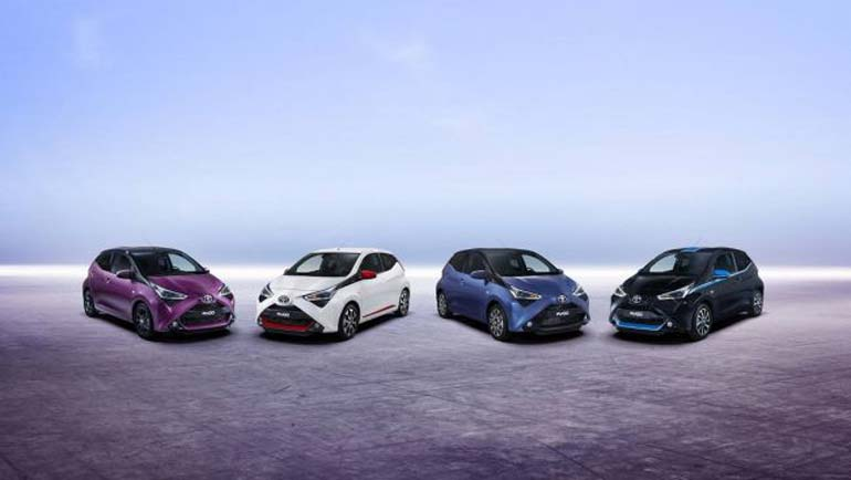Цветовая гамма Toyota Aygo пополнилась новыми оттенками