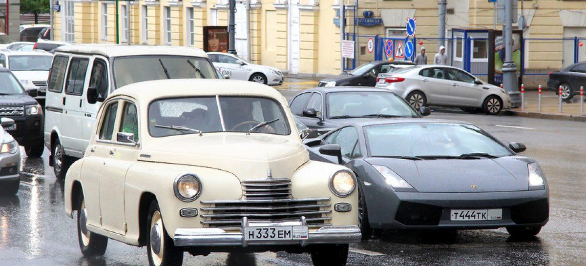Средний возраст автомобиля в России вырос до 13 лет