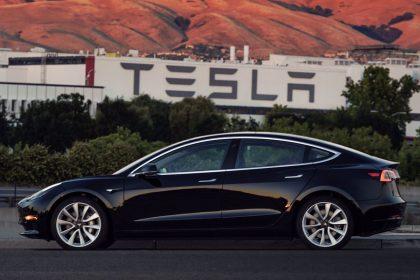 Секретные данные о производстве Tesla похищены