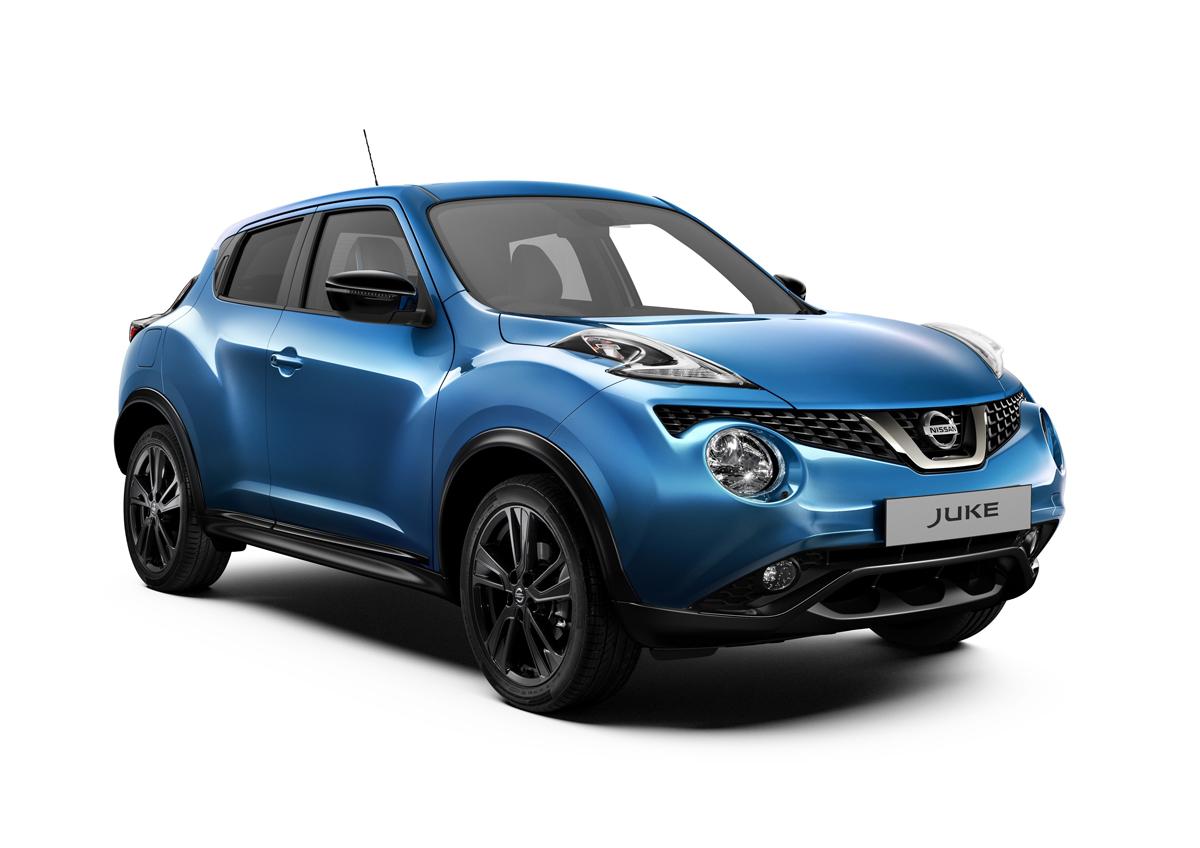 Nissan Juke освежил свой вид