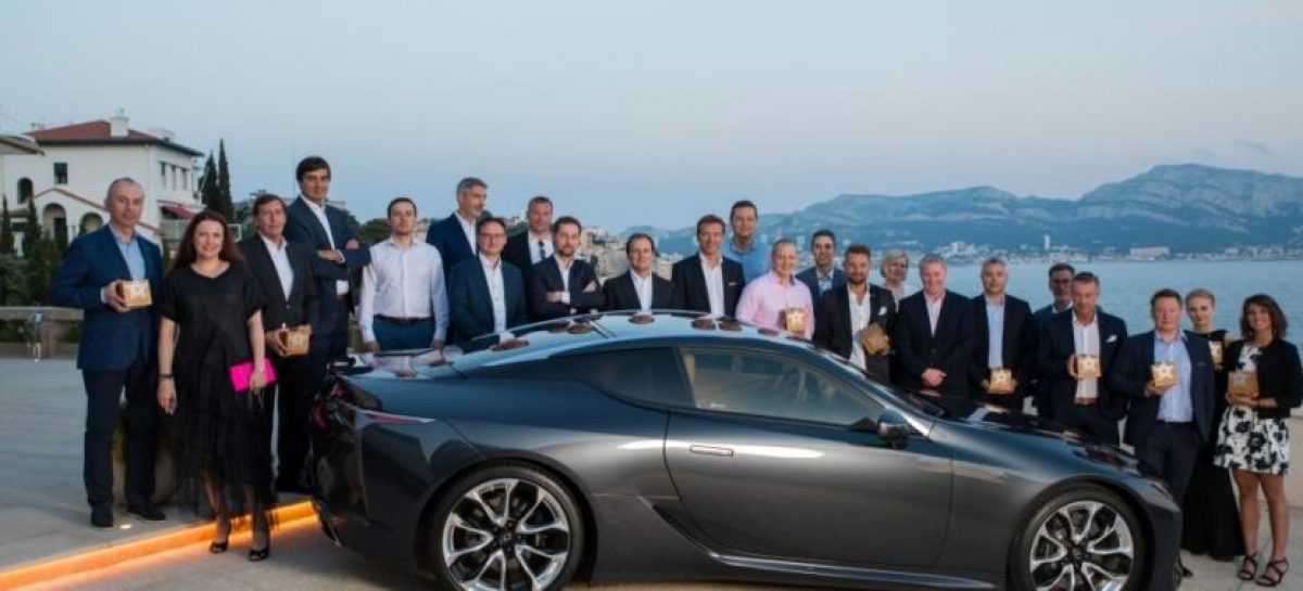 Европейские дилеры получили премию Lexus Kiwami Award 2018