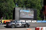 Зрелищные заезды и мощные суперкары на гонке «Московская миля»