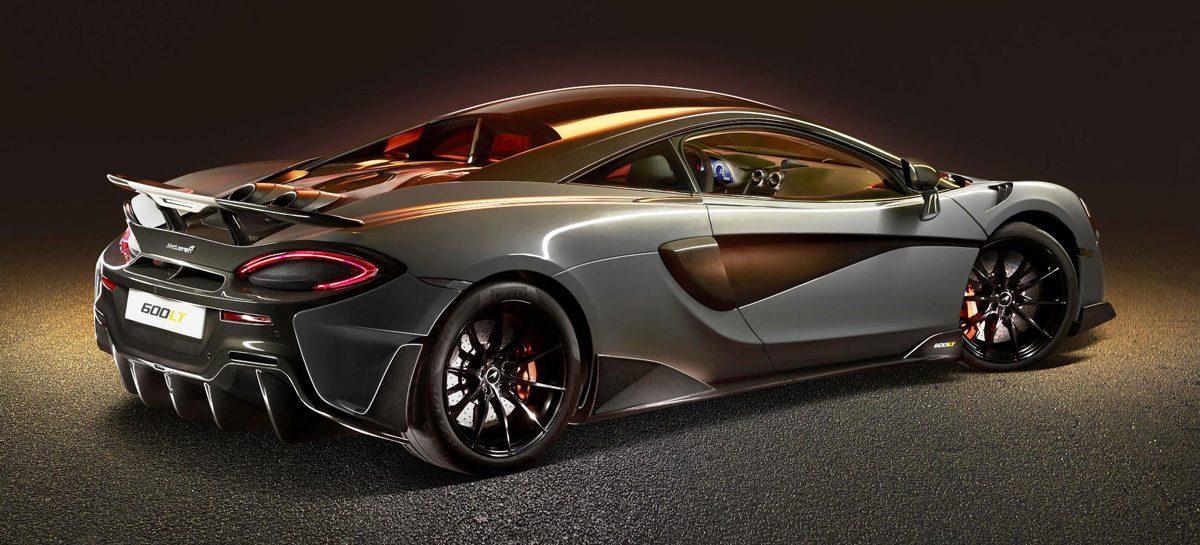 Вертикальный выхлоп McLaren – это круто! (Видео)