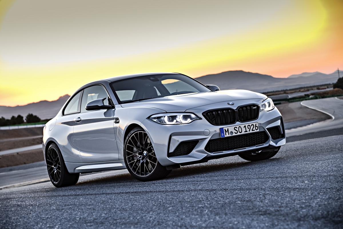BMW M2 Competition стал доступен к заказу в дилерских центрах