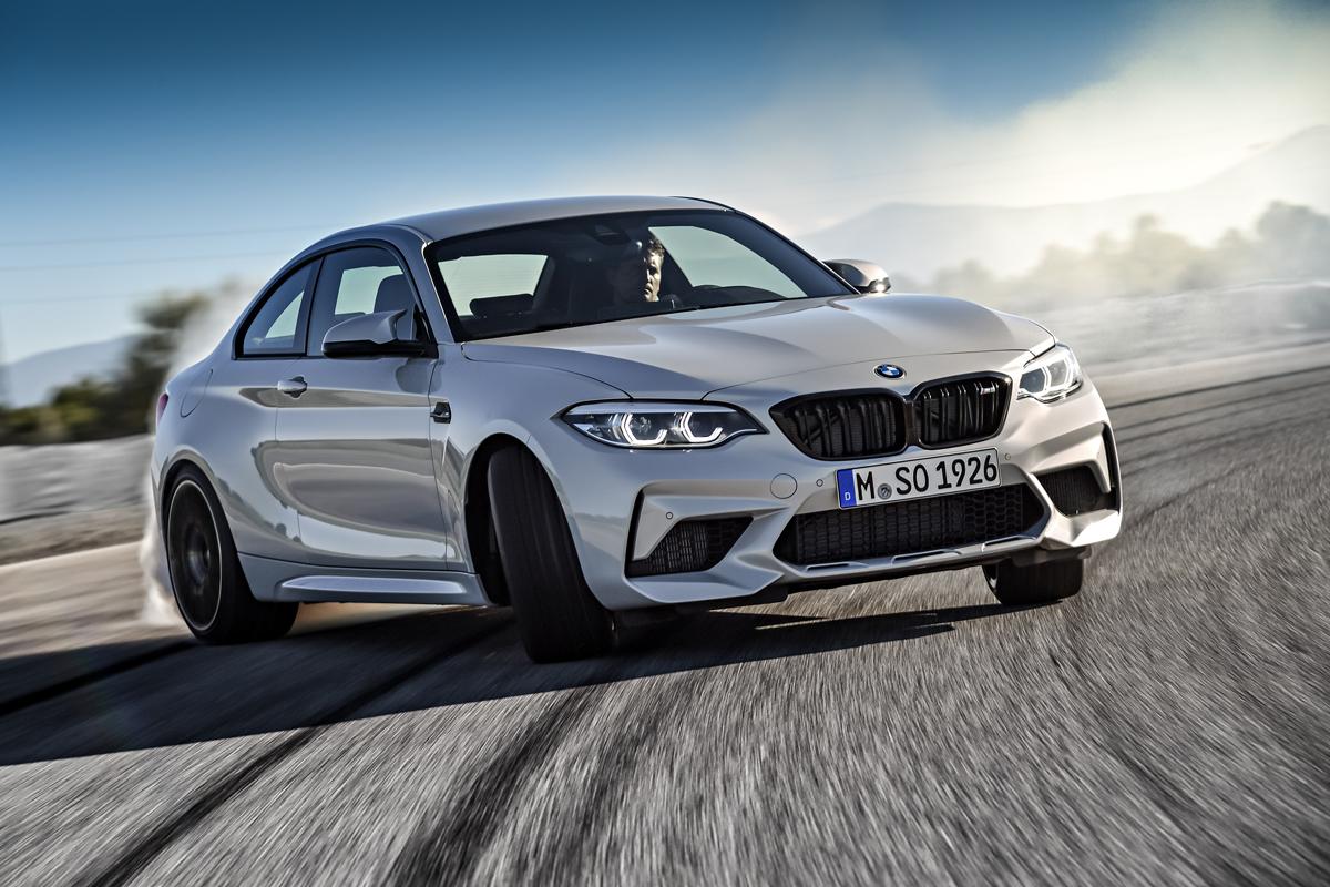 В BMW M2 Completition максимальная скорость ограничена электроникой на отметке 250 км/ч