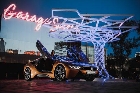 BMW на открытии летнего сезона в Гараже