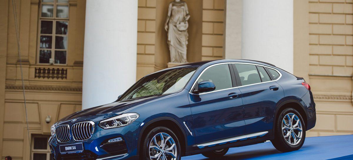 Новый BMW X4 впервые показан в России