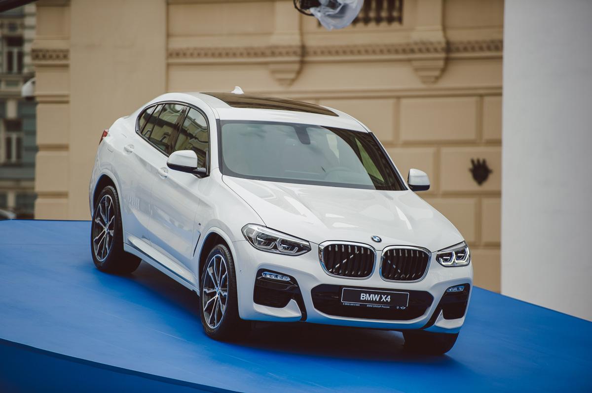 Яркий дизайн и потрясающие характеристики BMW X4