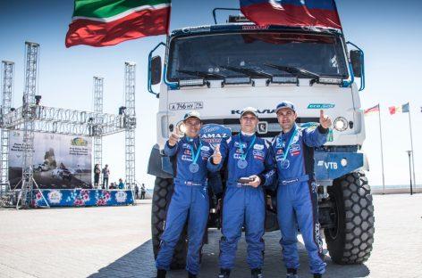 Экипаж Сергея Куприянова победил в групповом зачете ралли «Казахстан-2018»