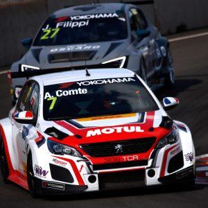 В первой гонке WTCR в Португалии произошла массовая авария на старте (видео!)