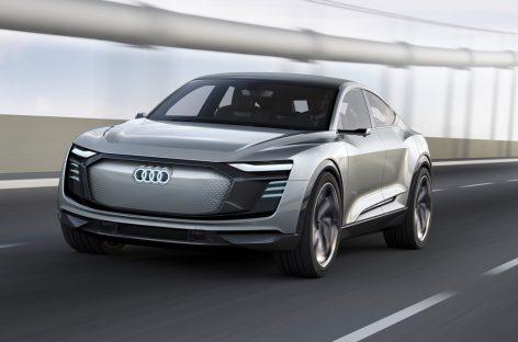 Audi отменила презентацию электромобиля e-tron