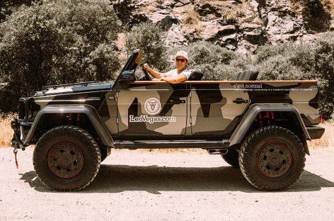 «Гелик» 4×4² превратили в кабриолет, чтобы ставить в гараж