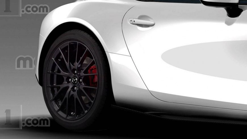 Компьютерная визуализация новинки от Mazda
