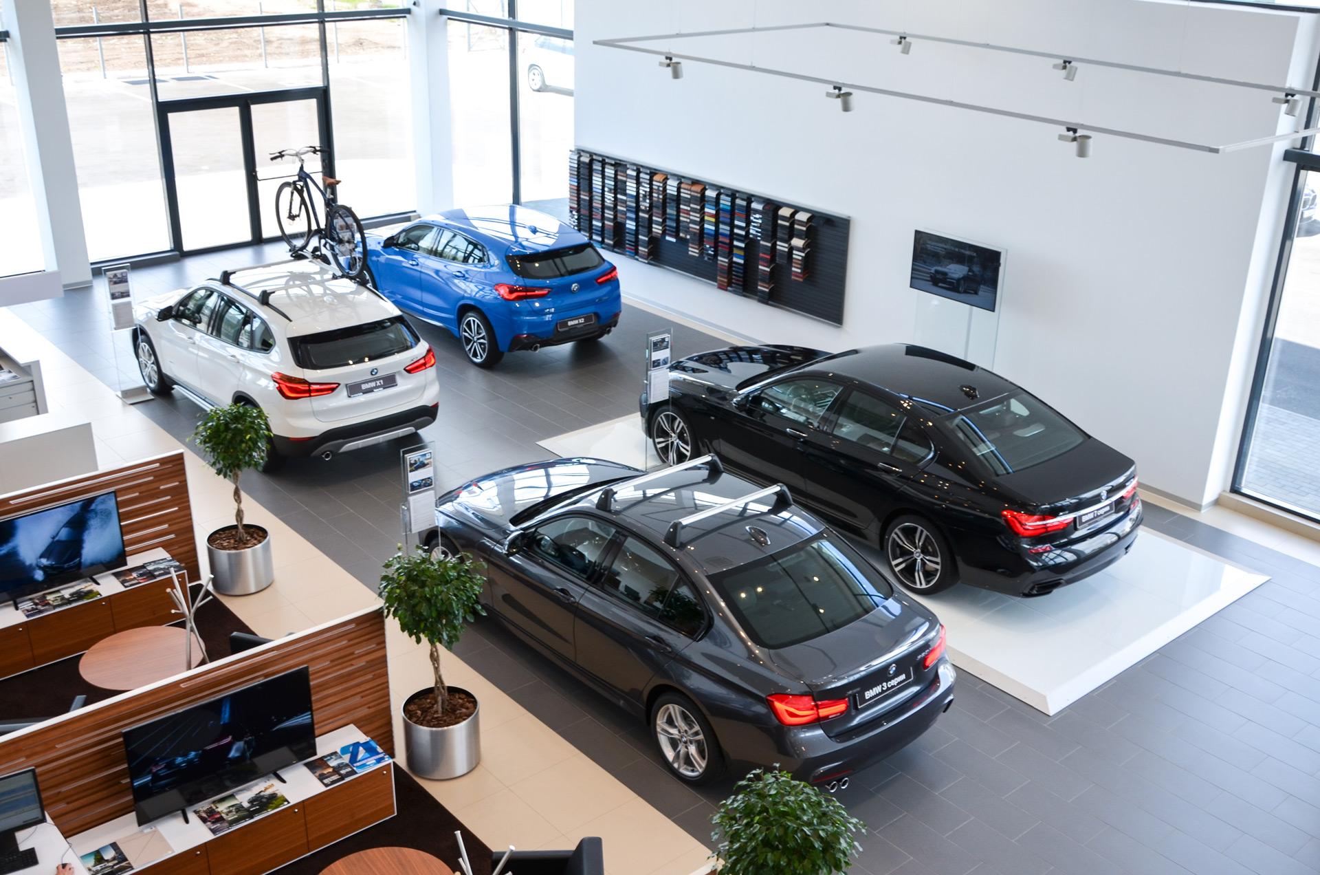 Открытие первого представительства BMW в Магнитогорске